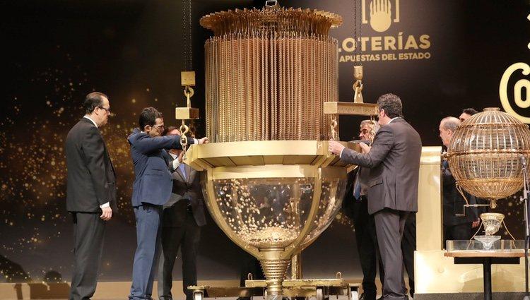 Inicio del Sorteo de la Lotería 2018