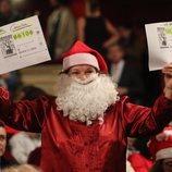 Papá Noel en la Lotería de Navidad 2018