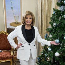 Maria Teresa Campos celebra la Navidad