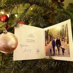 Felicitación navideña de Carlos Felipe de Suecia y Sofia Hellqvist