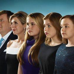 La Familia Real de Holanda felicita la Navidad con esta instantánea