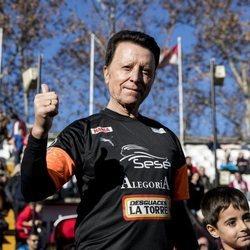 José Ortega Cano en el Partido benéfico Artistas vs Famosos
