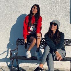 Chabelita Pantoja y Anabel Pantoja disfrutan juntas de la Nochevieja 2018 en Cantora