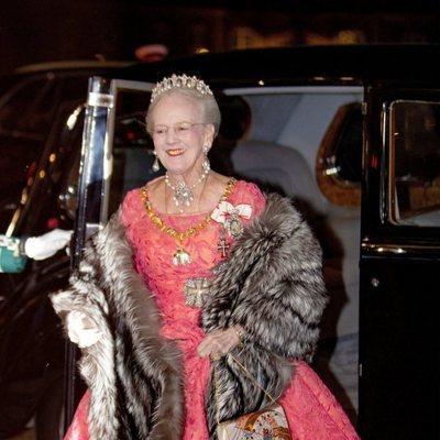 Margarita de Dinamarca en la recepción de Año Nuevo 2019