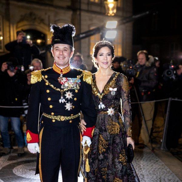 La Familia Real Danesa en la recepción de Año Nuevo 2019