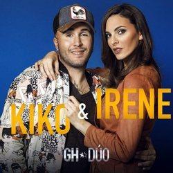 Kiko Rivera e Irene Rosales en la foto promocional de 'GH Dúo'