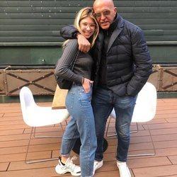 Anita Matamoros come con su padre Kiko Matamoros antes de volver a Milán tras Navidad