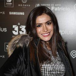 Miriam Saavedra colaborando en la gala benéfica '33 el musical'