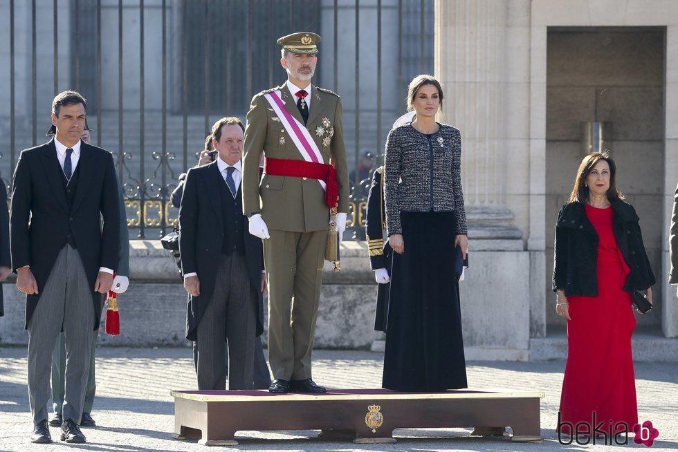 Los Reyes presiden la Pascua Militar 2019 junto al Presidente del Gobierno y la Ministra de Defensa