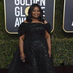 Octavia Spencer en la alfombra roja de los Globos de Oro 2019