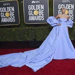 Lady Gaga en la alfombra roja de los Globos de Oro 2019