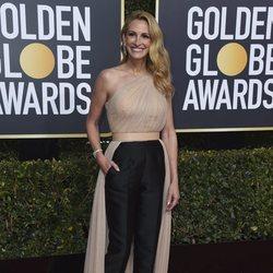 Julia Roberts en la alfombra roja de los Globos de Oro 2019