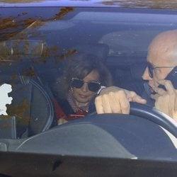 María Teresa Campos yendo a casa de su hija Terelu Campos