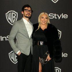 Hilary Duff y Matthew Koma tras la celebración de los Globos de Oro 2019