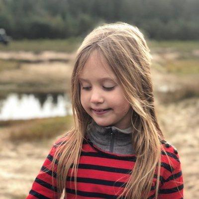 Josefina de Dinamarca en la celebración de su 8 cumpleaños