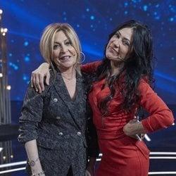 Maite Galdeano y Paz Guerra en la gala de estreno de 'GH Dúo'