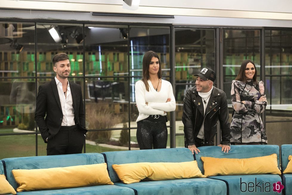 Sofía Suescun, Alejandro Albalá, Kiko Rivera e Irene Rosales en 'GH Dúo'