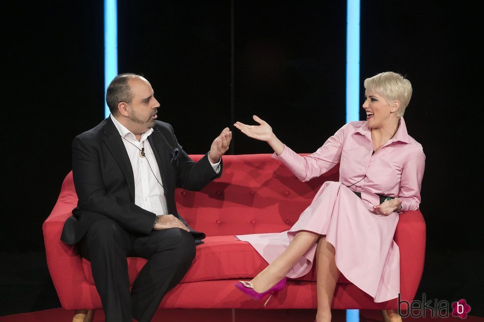 María Jesús Ruiz reencontrándose con Julio Ruz en 'GH Dúo'