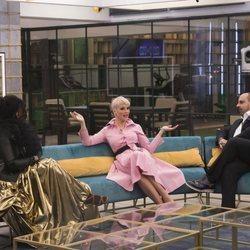 Carolina Sobe, María Jesús Ruiz y Julio Ruz en 'GH Dúo'