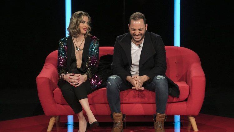 Antonio Tejado y Candela Acevedo en 'GH Dúo'