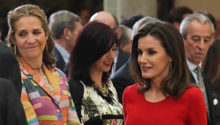 La Reina Letizia y la Infanta Elena en los Premios Nacionales del Deporte 2017