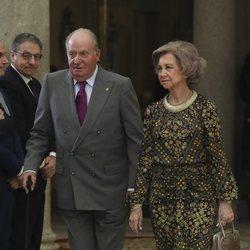 Los Reyes Juan Carlos y Sofía en los Premios Nacionales del Deporte 2017