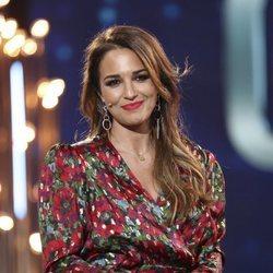 Paula Echevarría en el plató de 'GH Dúo' durante la Gala 2
