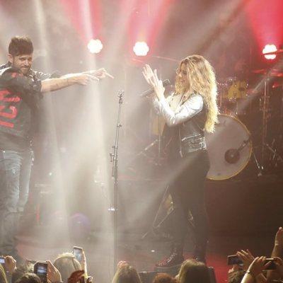 Pablo López y Miriam Rodríguez cantan 'No'