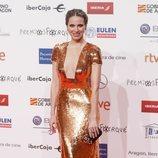 Vanesa Romero en la alfombra roja de los Premios Forqué 2019