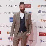 Edu Soto en la alfombra roja de los Premios Forqué 2019