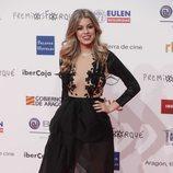 Nerea Rodríguez en la alfombra roja de los Premios Forqué 2019