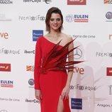 Macarena Gómez en la alfombra roja de los Premios Forqué 2019
