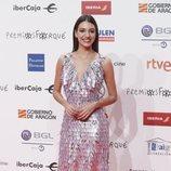 Ana Guerra en la alfombra roja de los Premios Forqué 2019
