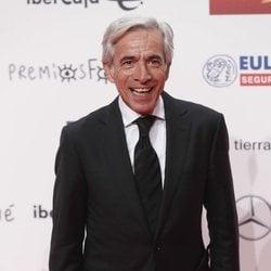Imanol Arias en la alfombra roja de los Premios Forqué 2019