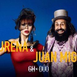 Juan Miguel y Yurena en la fotografía promocional de 'GH DÚO'
