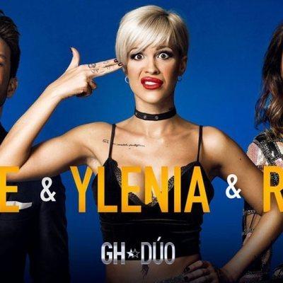 Fede, Ylenia y Raquel en la foto promocional de 'GH DÚO'