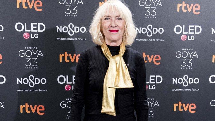 Susi Sánchez en la fiesta de nominados de los Goya 2019