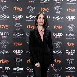 Celia Rico en la fiesta de nominados de los Goya 2019