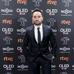 Juan Antonio Bayona en la fiesta de nominados de los Goya 2019
