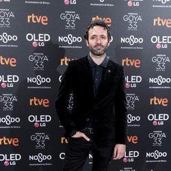 Rodrigo Sorogoyen en la fiesta de nominados de los Goya 2019