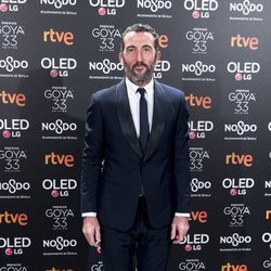 Luis Zahera en la fiesta de nominados de los Goya 2019