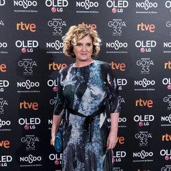 Ana Wagener en la fiesta de nominados de los Goya 2019