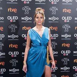 Corina Randazzo en la fiesta de nominados de los Goya 2019