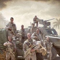 Elenco de los militares de 'Los nuestros 2'