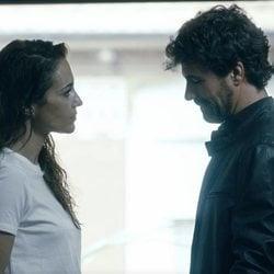 Rodolfo Sancho y Paula Echevarría en una escena de 'Los nuestros 2'