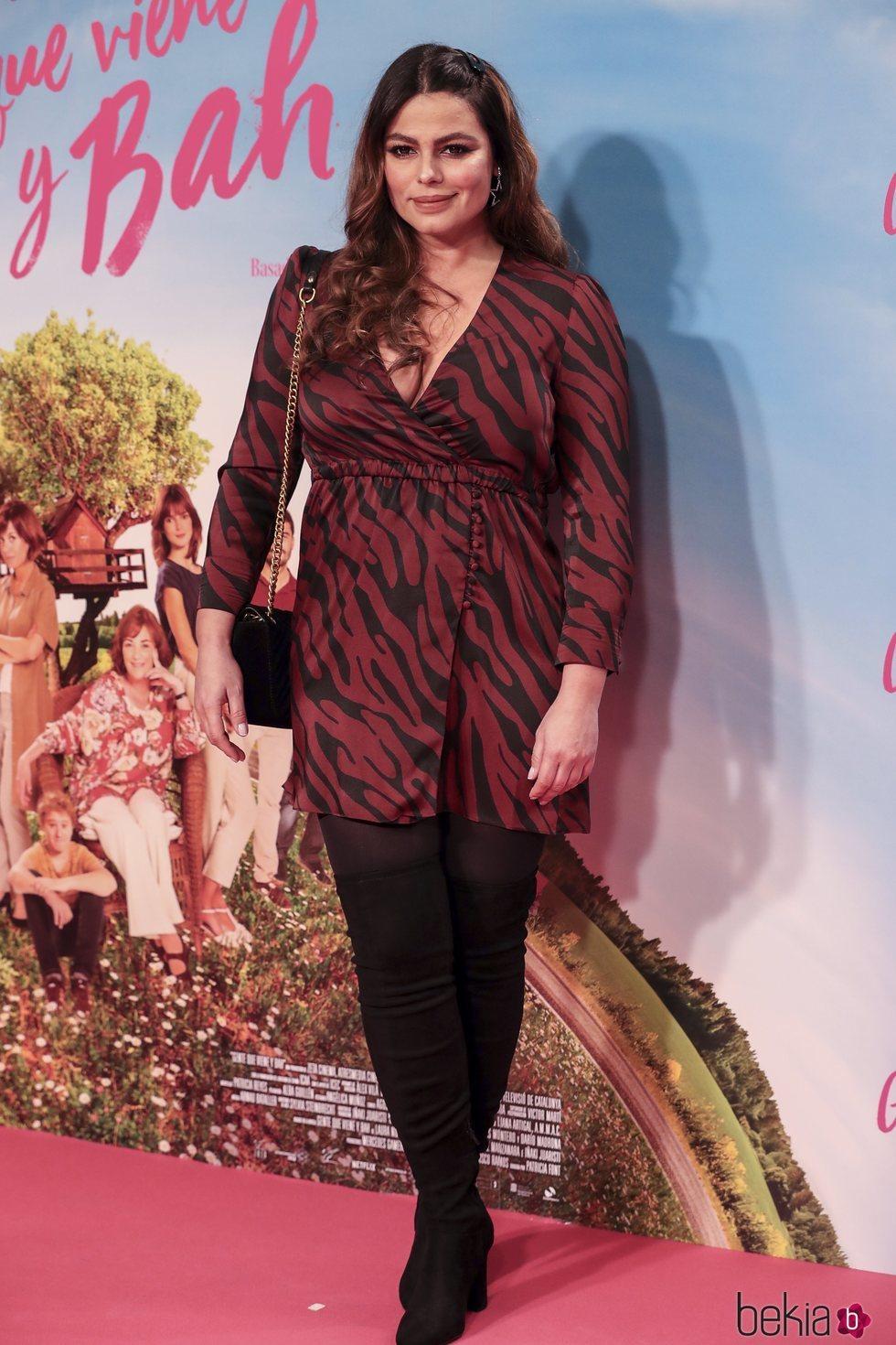 Marisa Jara en el estreno de 'Gente que viene y bah'