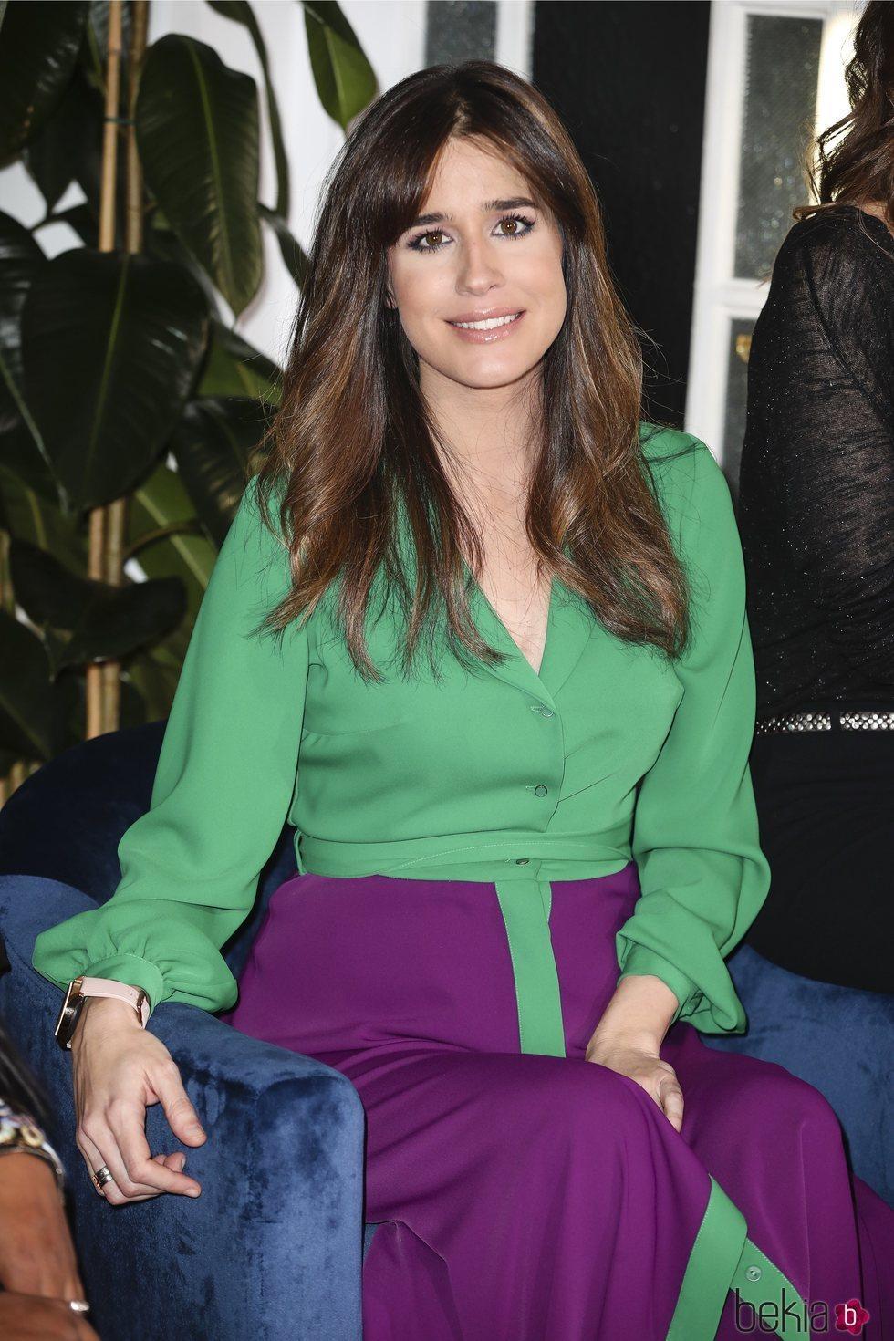 Isabel Jiménez en la presentación de 'Belleza más allá de belleza'
