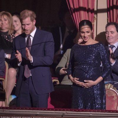 El Príncipe Harry y Meghan Markle en el espectáculo 'Totem' del Circo del Sol