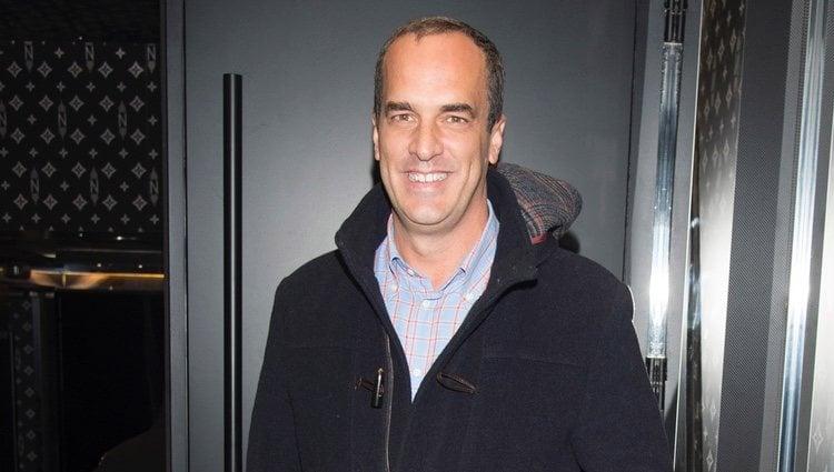 El presentador Santi Acosta
