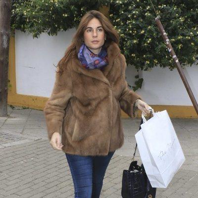 Lourdes Montes, de compras tras haber sido madre de su segundo hijo